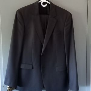 NWOT Andrew's grey stripper suit 2 pieces